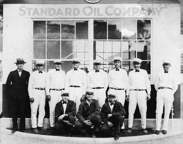 What is the abbreviation for Standard Oil Company of New York?