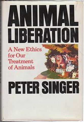 animal liberation peter singer thesis Animal liberation and environmental ethics: bad marriage peter singer, perhaps more than tionism and sufferagism) and animal liberation.