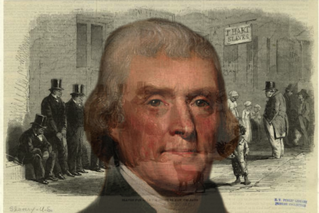 the hypocrisy of thomas jefferson as a slave owner fighting against slavery President, inventor, educator, planter, slave owner and abolitionist jefferson was against slavery or thomas jefferson supported slavery.