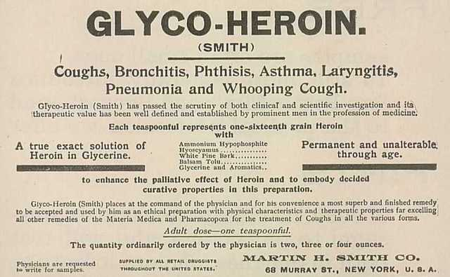 Bayer Introduces Heroin
