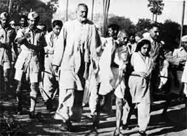 indian independence movement and gandhi Indian national congress: the indian national congress dominated the indian movement for independence from mohandas k gandhi and sarojini naidu on.