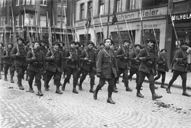 the re occupation of rhineland Under the terms of the treaty of versailles 1919 germany was not allowed to have any military force, building or armaments in the rhineland area to ensure.