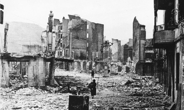 German Allies Bomb Guernica