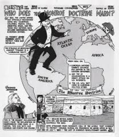 Monroe doctrine date in Brisbane