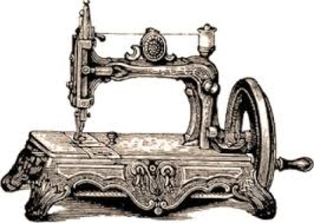 historia de la máquina de coser timeline | Timetoast timelines