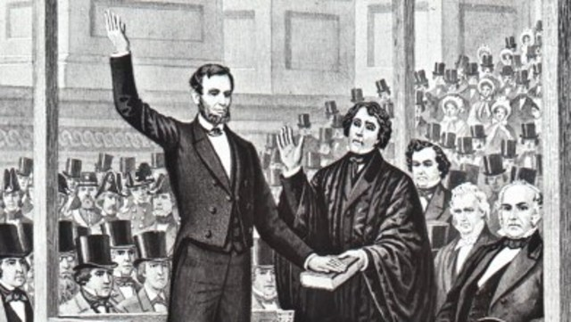 an analysis of abraham lincoln views regarding slavery during the civil war in first inaugural addre Analysis of lincoln's first inaugural address abraham lincoln's first inaugural address when abraham lincoln won the years of civil war lincoln.