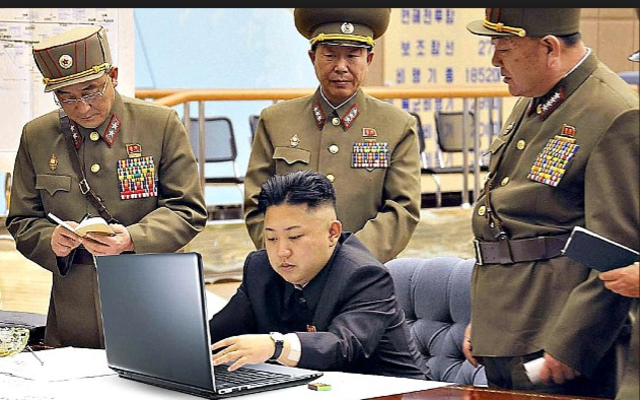 North Korea cyber attack