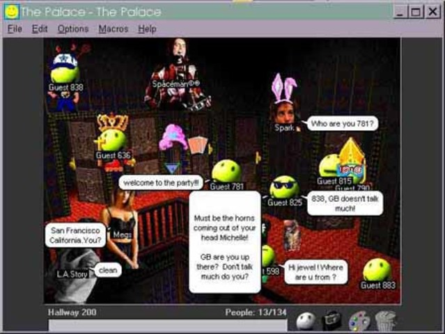 the park chat rooms
