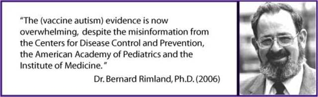 autism bernard rimland s theory Bernard rimland, a psychologist and a father of an autistic child, wrote a book   while the refrigerator parent theory of autism was largely.