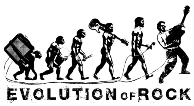 evolution of rock Rock music & its rapid evolution introduction music has been with man since the dawn of time another misconception is that rock is only drums and guitar, when that is only the public face of rock.