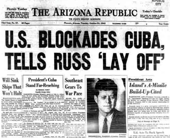 Cuban missile crisis date