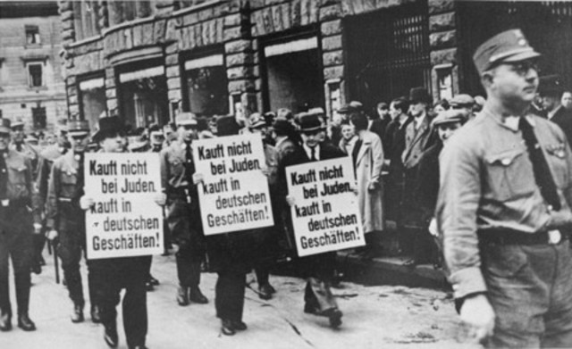 nazi germany s discrimination against jews throughout worl Despite laws and other protections against discrimination that the jews were to blame for germany's because of these stereotypes and prejudices.