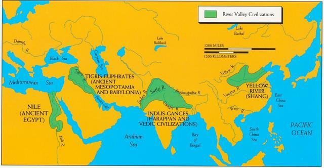 River Civilization Timeline | Timetoast timelines