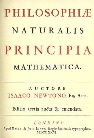 Philosophiae Naturalis Principia Mathematica by …
