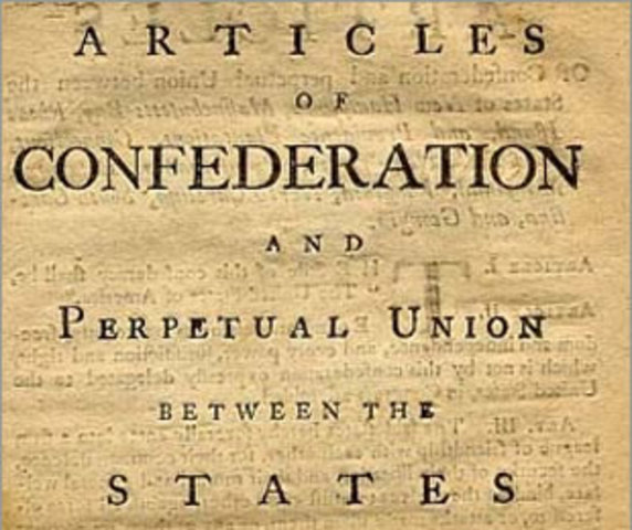 the articles of confederation as a form of government in the united states Visit constitutionfactscom to read the full text of the articles of confederation,  united states (us) articles of  of confederation was a plan of government.