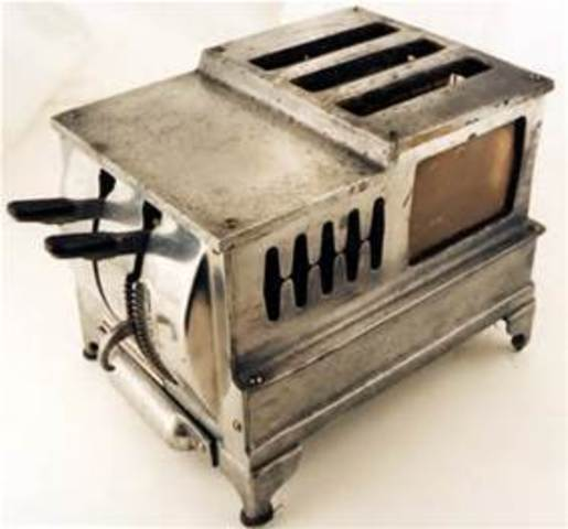 What Was The First Electric Toaster ~ Household management technology timeline timetoast