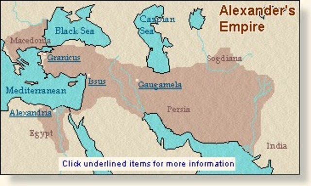 how was alexander the great able to conquer the empire Start studying chapter 5 section 3 alexander the great continued to conquer the what is the connection we can make from alexander the great and his empire.