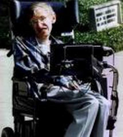 Stephen William Hawking was born in Oxford.