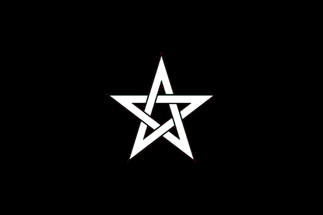 Pentagram represent