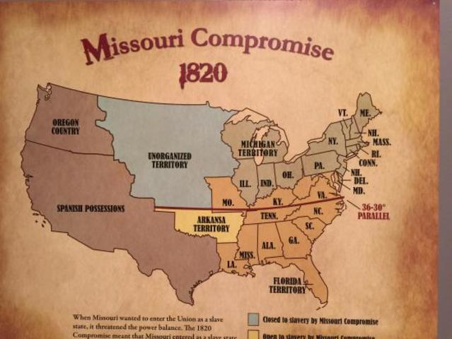 missouri compromise and the compromise of Facts, information and articles about missouri compromise, one of the causes of the civil war missouri compromise summary: the missouri compromise of 1820 was an effort by the us senate and house of representatives to maintain a balance of power between the slaveholding states and free states.