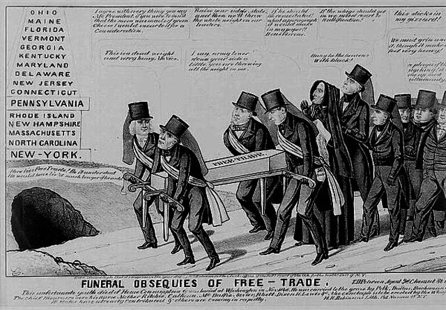 nullification crisis of 1832 essay topics