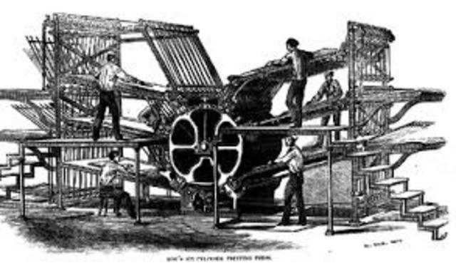 the invention and development of the printing press The printing press was one of the most revolutionary inventions in human history 1  economic development in pre-industrial europe they add.