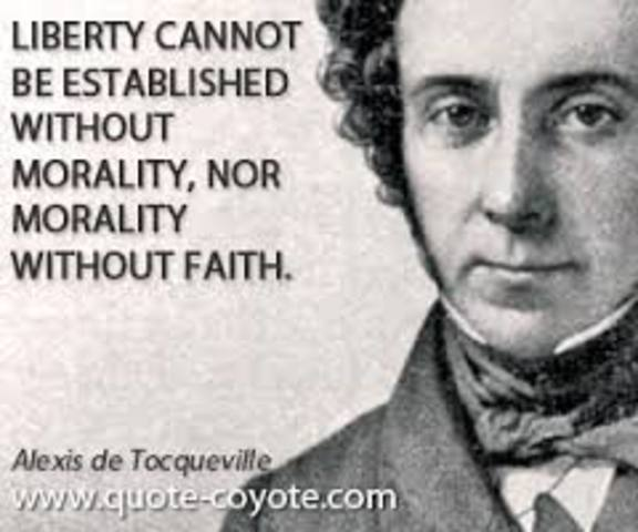 critical analysis of alex de tocqueville s Article analysis - comparative essay: tocqueville vs ortiz alex de tocqueville's teachings on inequality and poverty in the united states - french social.