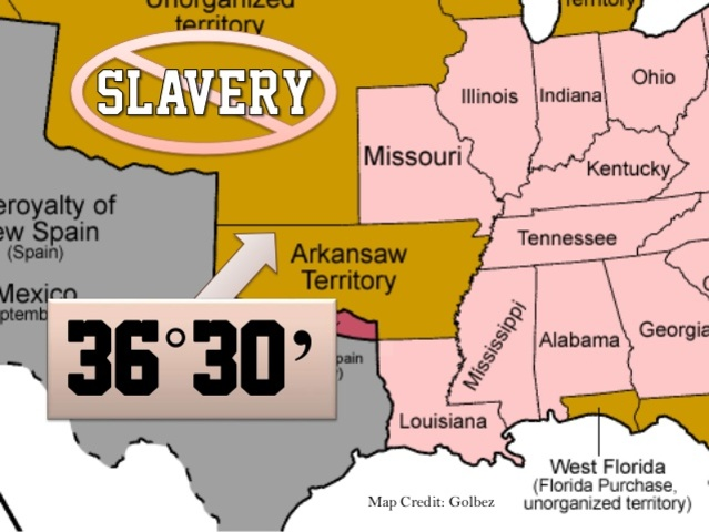 the controversy over whether or not missouri was admitted to the union as a slavery state It was the first state to join untainted by slavery these state states were often admitted into the union in controversy over whether missouri.