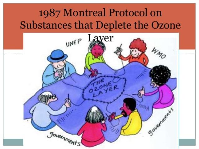 Montreal Protocol Timeline Timetoast Timelines