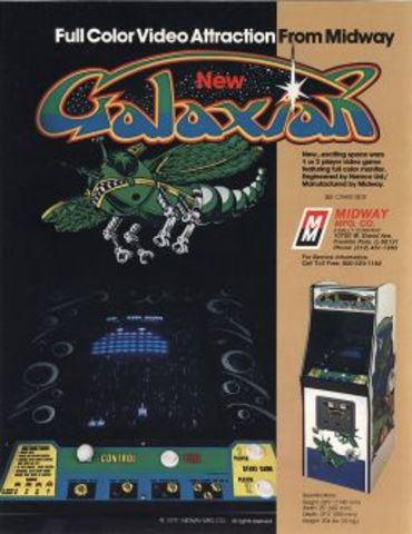 Launch of Galaxian