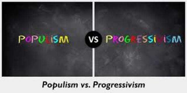 populism and progressivism The age of reform is a 1955 pulitzer prize-winning book by richard hofstadter it is an american history, which traces events from the populist movement of the 1890s through the progressive era to the new deal of the 1930s.