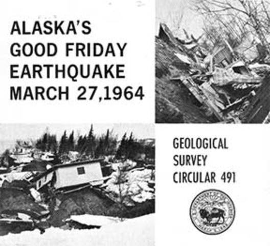 1964 alaska earthquake essay for geology Guide to the anchorage engineering geology evaluation group papers 1964 papers from a group who reported on damages to anchorage after the 1964 alaska earthquake.