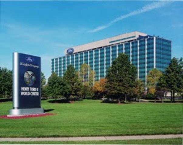 Gordon bunshaft timeline timetoast timelines for Ford motor company 10k report