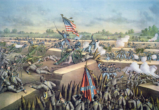 Richmond Ford Lincoln Richmond Va >> The Civil War (1861-1865) timeline | Timetoast timelines