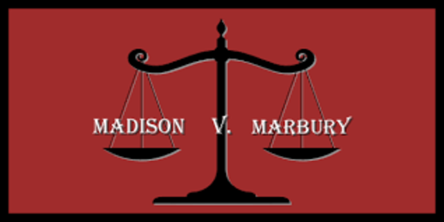 the importance of the marbury vs madison case in strengthening the public perception of the court Marbury vs madison marbury v madison is in all cases affecting ambassadors, other public a case as this, to enable the court to exercise its.