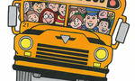 School bus  landscape
