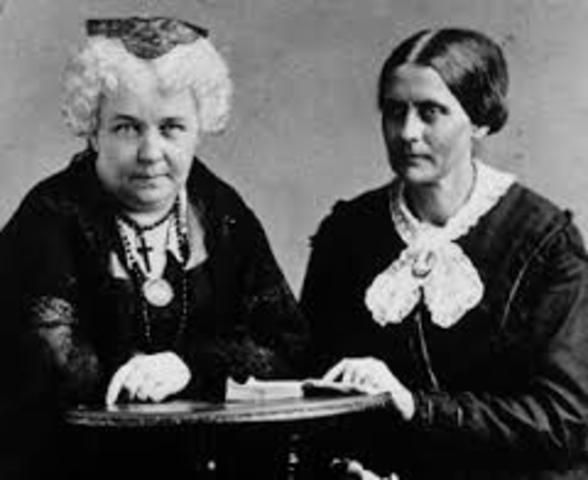 an analysis of the womens right to vote and the seneca falls convention by elizabeth cady stanton an