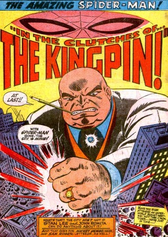 First appearance of the Kingpin