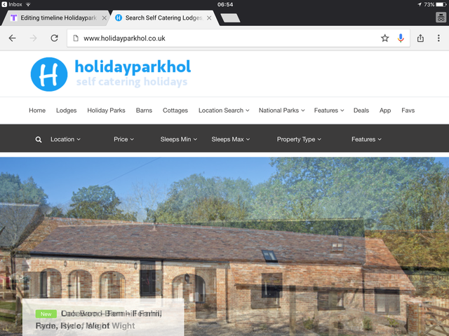 Holidayparkhol Re-launch