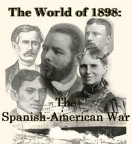 us decision to declare war against spain in 1898 The fateful year 1898: the united states becomes an lodge was an influential voice for war against spain, and for us movement in the united states, 1898-1900.