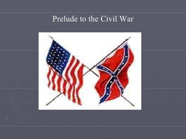 events that led to civil war These factors led to the civil war of april 1861, which lasted for more than four years (morrison 92) in conclusion, different events took place prior to the civil war that took place from 1861 to 1865, most of which were related to slavery.
