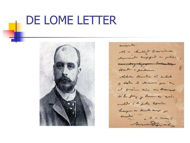 De Lome Letter EDCOBUK3
