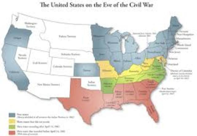 why did the southern states secede essay Why did the civil war start essay this made four more states secede the conflict between the southern and northern states did not start suddenly.