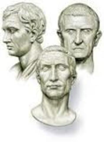 role of the second triumvirate
