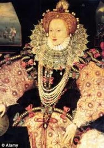 Queen Elizabeth 1 Of England Timeline Tia's World...