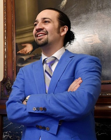 Lin-Manuel Miranda was born