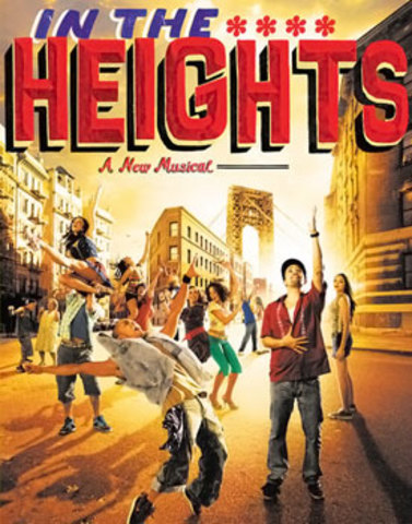 Started writing In the Heights
