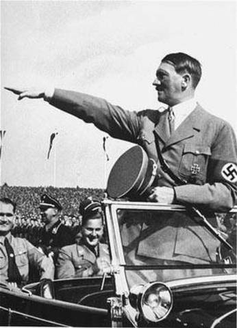 Hitler becomes the Furher