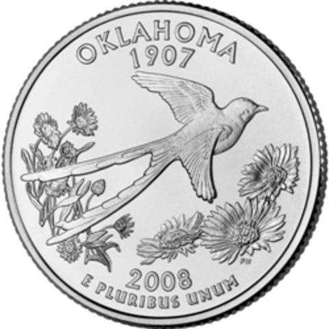 Oklahoma Quarter Released