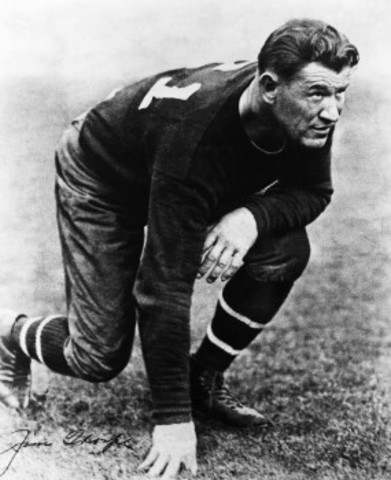 Jim Thorpe is named Greatest Athlete